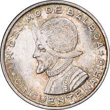 1953 PANAMA 1/10 BALBOA KM #18 - GEM BU