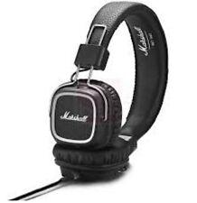 Marshall Major 2 II Bluetooth Headphones Generation Headset Remote Mic Black