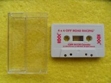 4 X 4 OFF ROAD RACING - by kixx - commodore 64 / 128 - cassette only