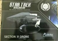 Eaglemoss Star Trek Discovery Section 31 Drone Ship Replica Brand New In Stock