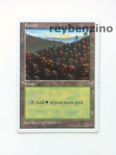 FOREST - MAGIC THE GATHERING KARTE - FIFTH EDITION - ENGLISCH - 1997 - WALD