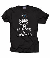 Gift For Lawyer T-Shirt Attorney Shirt Almost A Lawyer Tee Shirt