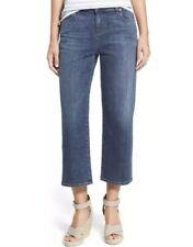 NWT Eileen Fisher Malibu Aged Indigo Straight Crop Jean Sz 6 $178