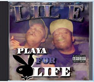 Lil E - Playa for Life (CD) Memphis Rap