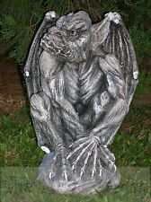 STUNNING GARGOYLE CEMENT CONCRETE garden ornament LATEX MOULDS MOLDS