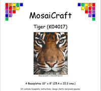 MosaiCraft Pixel Craft Mosaic Art Kit 'Tiger' Pixelhobby