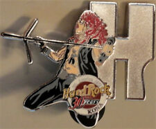"Hard Rock Cafe Kona 2001 Musician Letter Series Pin #1/12 ""H"" 30 Years 30th"