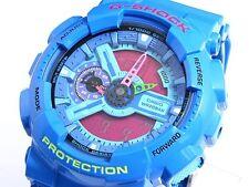 CASIO G-Shock GA110HC-2 GA-110HC-2 Hyper Colors Blue Ana-Digi XLarge !