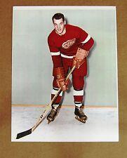 Detroit Red Wings Gordie Howe - Color Rookie Photo