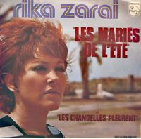 ++RIKA ZARAI les mariés de l'été/les chandelles pleurent SP 1973 PHILIPS VG++