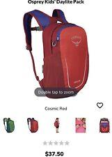 Osprey 10002391 Daylite Kid's School Backpack, Cosmic Red