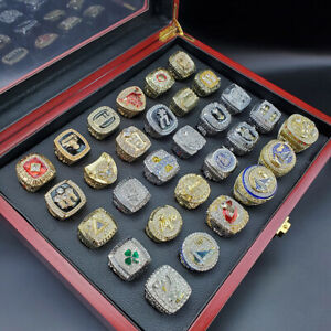 All NBA Championship Rings From 1989 - 2019 New with Display Box Size 11