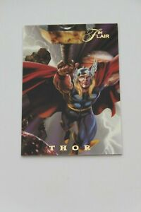 1994 Flair Inaugural Edition Thor Power Blast Insert Card 13 Of 18