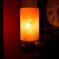 Himalayan Salt Night Light Natural Crystal Lamp Air Purifier Home Wall Deco New