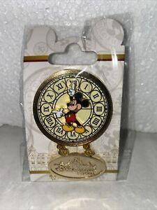 Pin Disney Disneyland Hotel Mickey Horloge Clock Paris Hotel Exclu OE