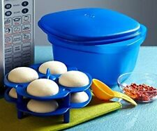 Tupperware MULTI COOK Multipurpose Microwave With IDLI Trays Strainer & Spoon K