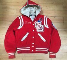 Vtg 1980s Garden Grove CA Argonauts High School Letterman Varsity Jacket Coat