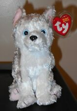 Ty Beanie Baby ~ JUNEAU the Husky Dog ~ MINT with MINT TAGS
