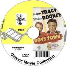 Boys Town (1938) Spencer Tracy, Mickey Rooney Drama Film DVD