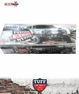 Toyota Landcruiser 200 Series 4.5 V8 Turbo Back Outlaw Stainless Exhaust No Muff