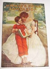 Woman's Home Companion July 1907 Magazine Very Good Vintage World War 1