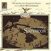 BRUNO MADERNA: SATYRICON NEW CD