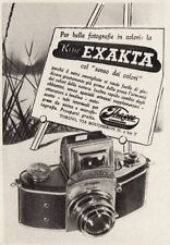 Z3705 Macchina fotografica EXAKTA - Pubblicità d'epoca - 1940 old advertising