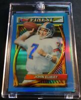 1994 JOHN ELWAY HOF FINEST REFRACTOR #119 BRONCOS SHARP (561)