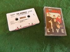Cassette: THE ANIMALS Live 1960's POP