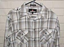 Airwalk Men's Size L Long Sleeve Button Front Shirt