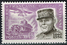 France WW1 General Estienne Father of Havy Tank and Aircraft stamp 1956 MNH