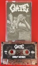 GATE EARLY WORKS CASSETTE TAPE RARE JAPANESE GRINDCORE METAL