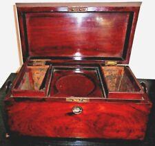 Antique Wooden Tea Chest