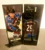 2020 NATHAN MACKINNON TIM HORTONS LIMITED EDITION NHL COLLECTIBLE STICKS LOCKER
