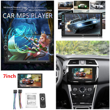 7'' HD Bluetooth Touch Screen Car Stereo Radio Double 2DIN FM/USB/AUX/MP5 Player