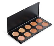 10 Neutral Colors Contour Makeup Concealer Face Cream Camouflage Palette Set Kit