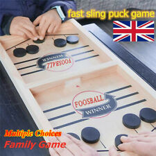 Fast Sling Puck Game Paced SlingPuck Winner Board Family Games Child Toys Gifts