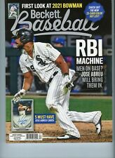 NEW CURRENT BECKETT BASEBALL PRICE GUIDE MAGAZINE, DECEMBER 2020, JOSE ABREU