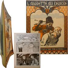 L'Assiette au beurre n°8 1901 Hermann-Paul Forain Steinlen Jacques Villon + supp