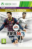 Genuine Xbox 360 FIFA 14 Ultimate Edition UK PAL BRAND NEW SEALED FAST FREE SHIP