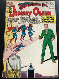 Jimmy Olsen #63 VG+ (4.5)