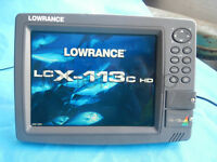 Lowrance LCX-113C HD GPS chartplotter Series (only LCX-113 head ,no accessories
