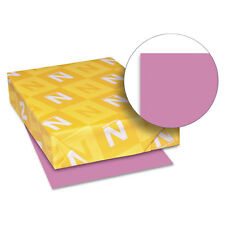 Neenah Paper Astrobrights Colored Card Stock 65 lb 8-1/2 x 11 Outrageous Orchid
