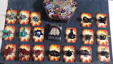 Bakugan LOT RARE! Evolution Hydranoid Single Head Black Darkus Translucent GEMS