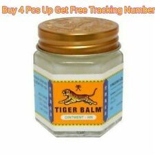 1 x 30 G TIGER BALM HERBAL WHITE OINTMENT MASSAGE RELIEF MUSCLE Aches & Pains A+
