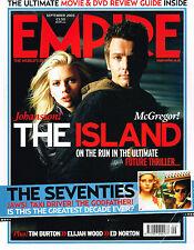 EMPIRE #195 09/2005 SCARLETT JOHANSSON Ewan McGregor THE ISLAND Elijah Wood 70's