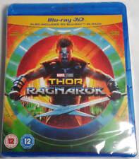 Thor Ragnarok 3D + 2D Blu-Ray BRAND NEW Free Shipping