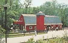 Wheeling West Virginia Glebays Good Zoo the Red Barn vintage pc Y13778