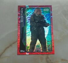 topps uk star wars rogue one card BISTAN