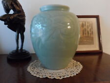 Beautiful Antique Chinese Vintage Celadon Glaze Porcelain Vase ,Ming dynasty !